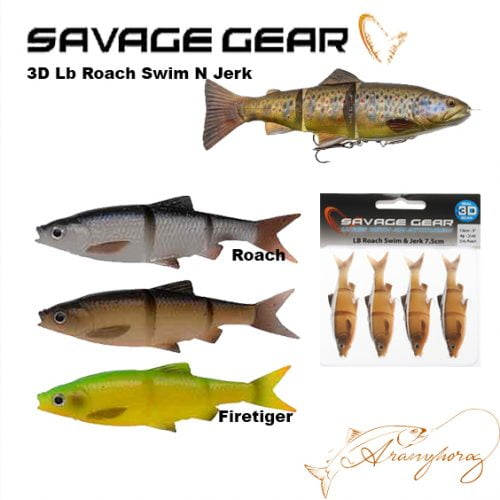 3D Lb Roach Swim N Jerk